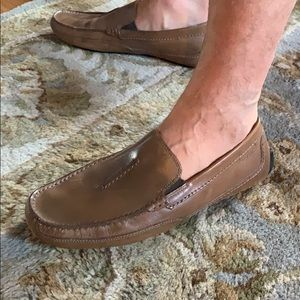 Clarks drivers brown size 10